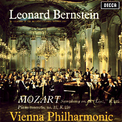 """Mozart : Piano Concerto No. 15 - Symphony No. 36 """"Linz"""""""