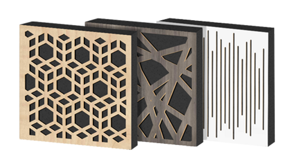 Impression Series Acoustic Panel Diffuser/Absorber