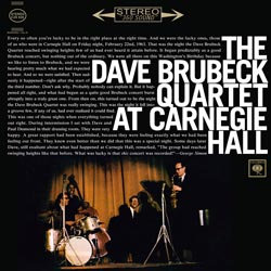 Dave Brubeck at Carnegie Hall