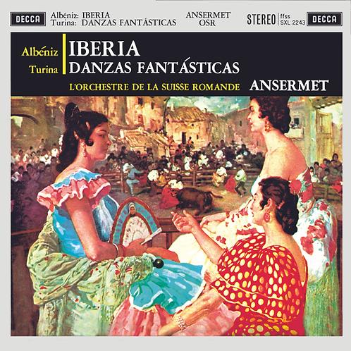 Albéniz: Iberia / Turina: Danzas fantásticas