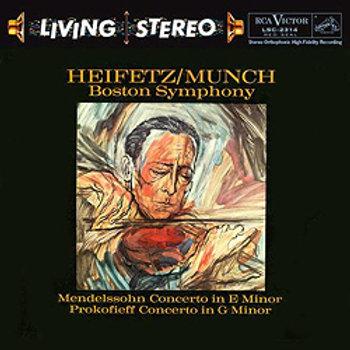 Mendelssohn / Prokofiev: Violin Concertos