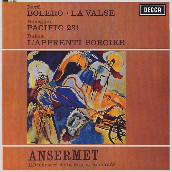 Ravel: Boléro, La Valse / Honegger: Pacific 231