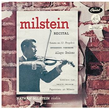 A Nathan Milstein Recital