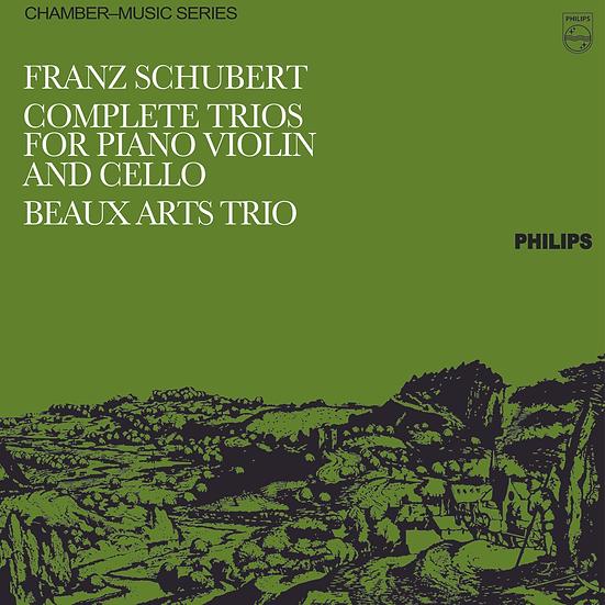 Schubert: Complete Trios For Piano, Violin And Cello