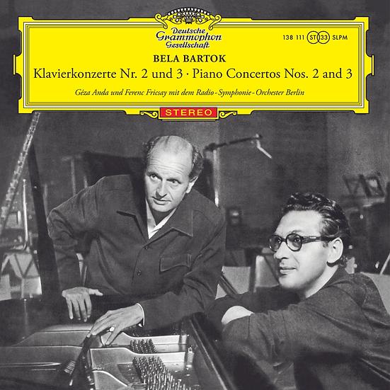 Bartok: Piano Concertos Nos. 2 and 3