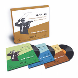 Bach: Partitas & Sonatas for unaccompanied violin