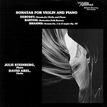 Debussy / Brahms / Bartok: Sonatas For Violin And Piano