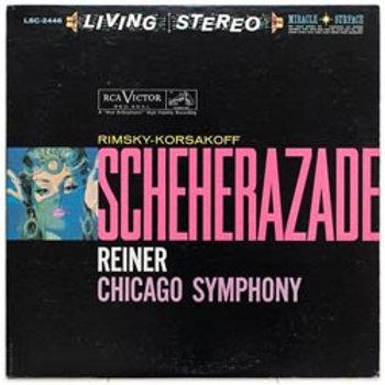 Rimsky-Korsakov: Scheherazade (45rpm-edition)