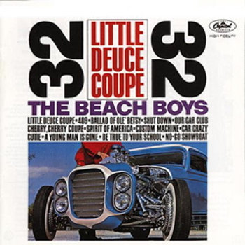 The Beach Boys: Little Deuce Coupe (stereo-edition)