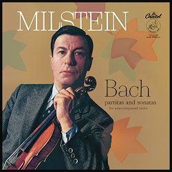 J.S Bach: Partitas & Sonatas for unacc. violin