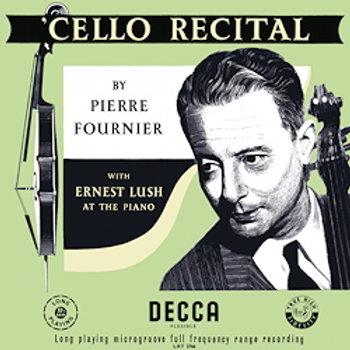 Pierre Fournier: Cello Recital
