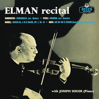 Mischa Elman: Recital