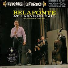 Harry Belafonte at Carnegie Hall
