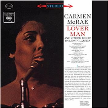 Carmen McRae: Lover Man & Other Billie Holiday Classics