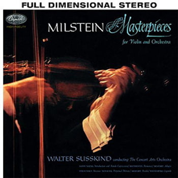Nathan Milstein: Masterpieces For Violin And Orchestra