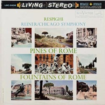 Respighi: Pines Of Rome/Fountains Of Rome (45rpm-edition)