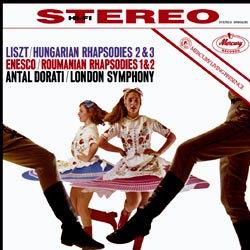 Liszt & Enesco : Rhapsodies