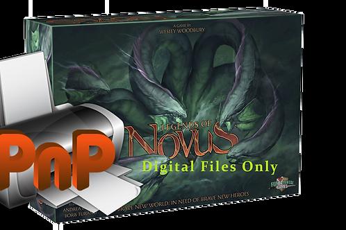 Legends of Novus Boargame Print & Play version (Digital files)