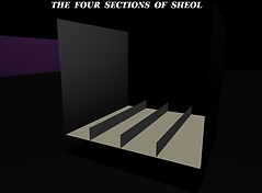 four sctions of sheol - square earth cosmology