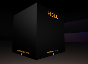 square earth cosmology - hell2