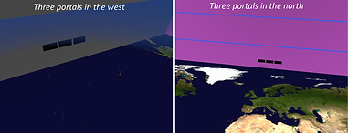 four winds at the ends of the earth - square earth cosmology