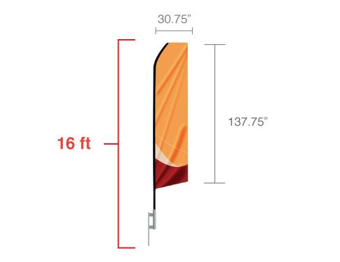 Econo Feather Flag 1