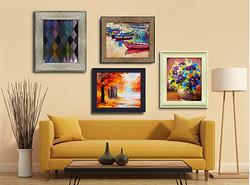 4 paints