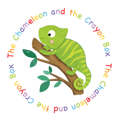 The Chameleon and The Crayon Box, a children's book (Paperback)