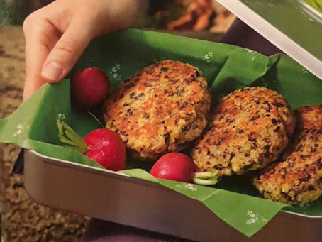 vegetarische Laibchen