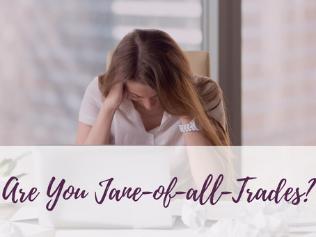 Are You Jane-of-all-Trades?