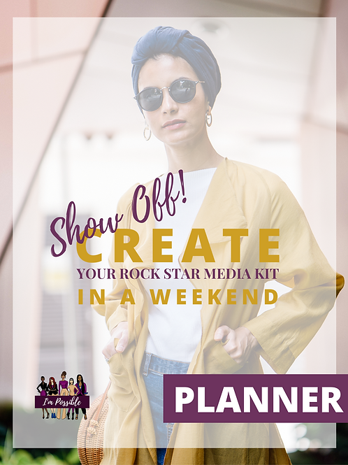 Show Off! Create Your Rock Start Media Kit in a Weekend