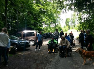 Sortie du Club CFRLC dans les bois du Jorat