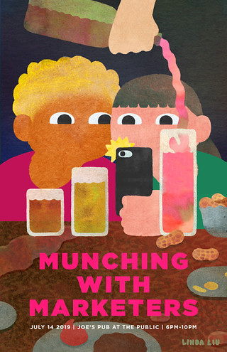 Munching with Marketers