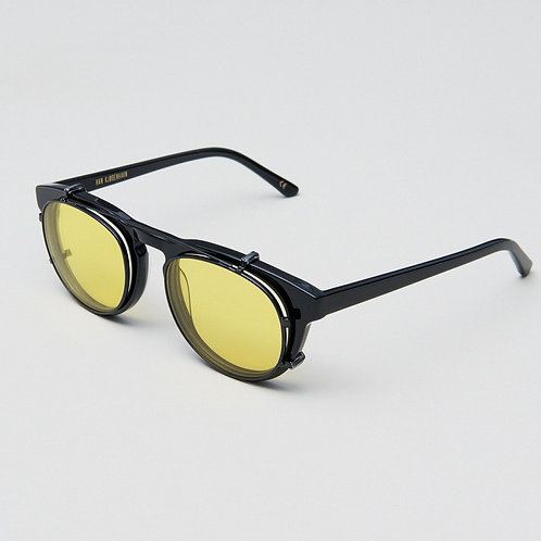 Timeless Clip On - Black Yellow Lens
