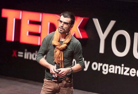 Pedro Remy TEDX Braga Cultura Empreendedorismo Cabeleireiro