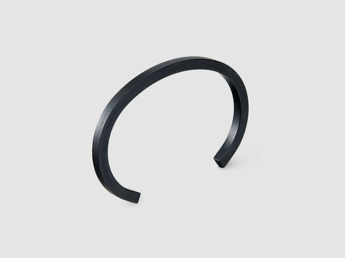 Uniform Square Cuff - Carbon Black