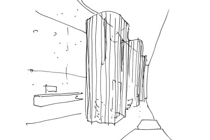 Esquiço arquitectura New Room