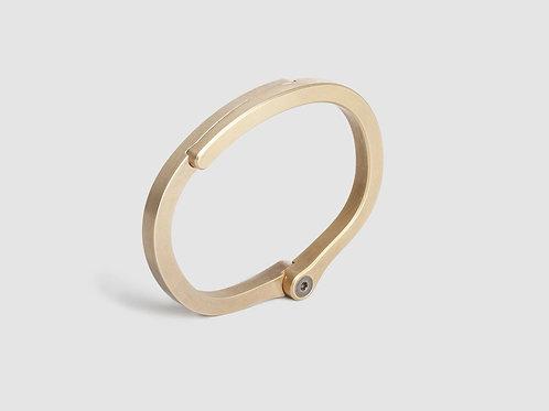 Ridge Cuff - Brass