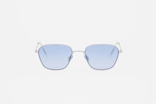 Otis Silver / Blue gradient lens