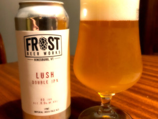 Kurt's Tasting Note #23 | Frost Beer Works | Lush Double IPA