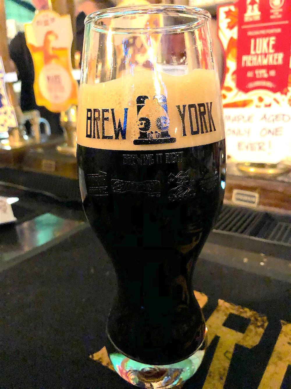 Imperial Tonkoko Milk Stout by Brew York