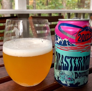 Glass of Mastermind Double IPA