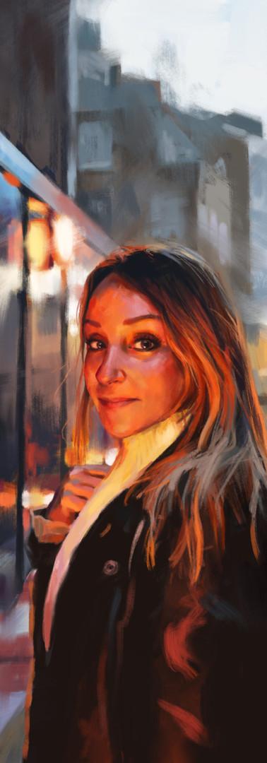 Retrato de Mamen Marquez