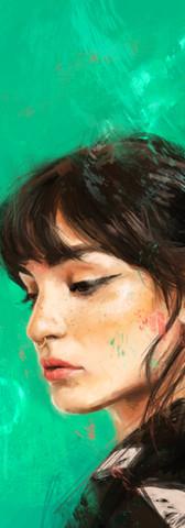 Retrato de Natalia Lacunza