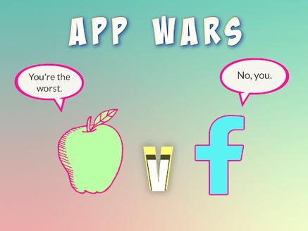 Apple vs Facebook.