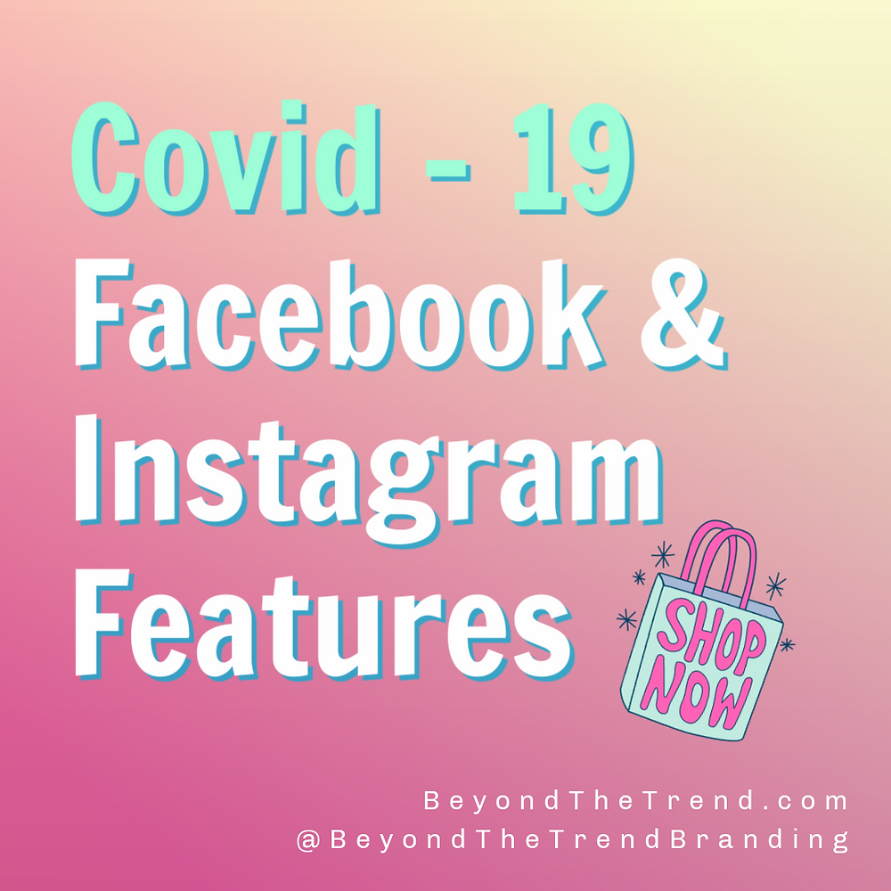 Covid 19 Updates for Facebook and Instagram August 2020