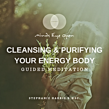CLEANSING & PURIFYING YOUR ENERGY BODY G