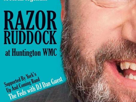 RAZOR RUDDOCK @ HUNTINGTON WMC - 25/01/2020