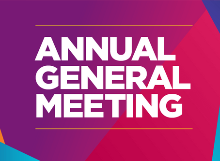 SAVE THE DATE - AGM 14th JULY 2020
