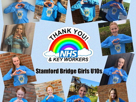 U10's GIRLS - CLAP THANK YOU AT 8PM TONIGHT